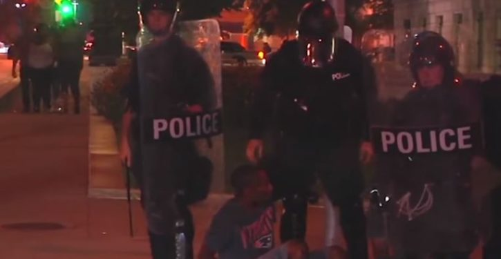 St. Louis police nab 80 vandals, looters during last night's protest
