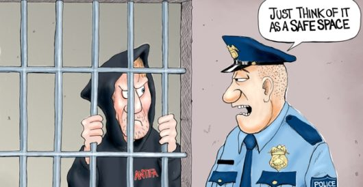 Cartoon of the Day: Poetic justice by A. F. Branco