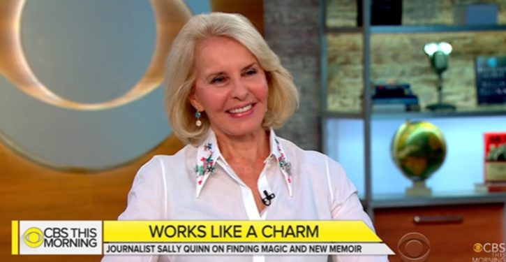 Journalist and D.C. doyenne Sally Quinn says she's an Occultist, may have killed people with hexes