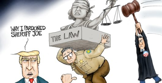 Cartoon of the Day: America's toughest sheriff by A. F. Branco