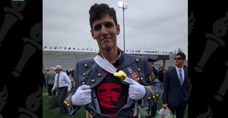 That Communist West Point cadet? He's out of the Army on an Other Than Honorable discharge