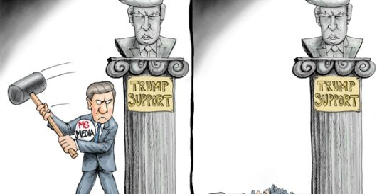 Cartoon of the Day: Damage report by A. F. Branco