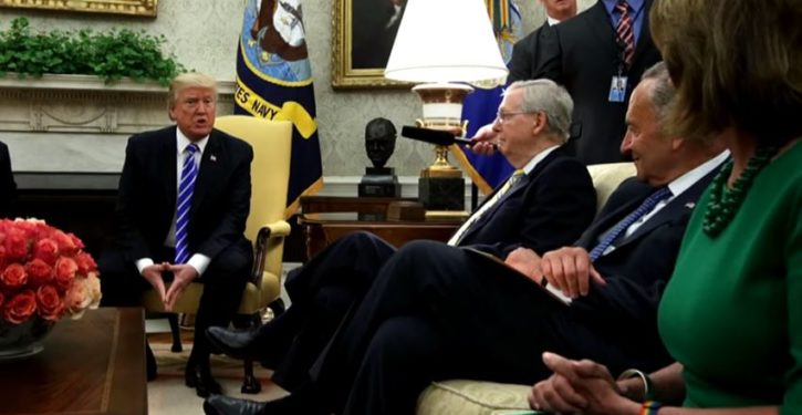 Most voters welcome Trump's outreach to congressional Democrats