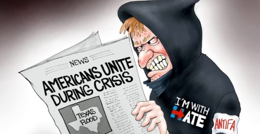 Cartoon of the Day: Upping the anti' by A. F. Branco