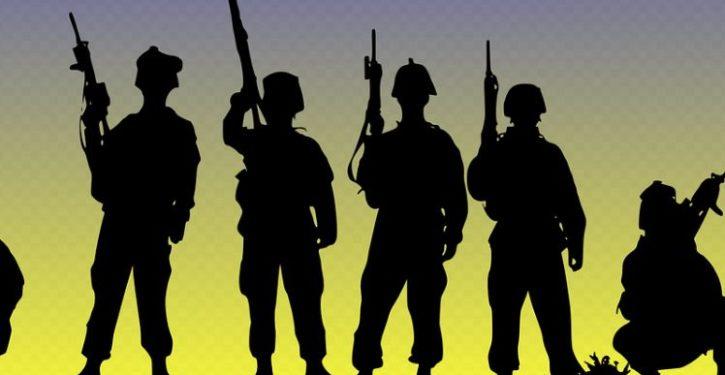 Democrats' next target over 'racism': the U.S. military