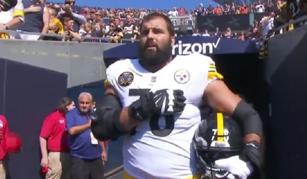 It's one thing not to stand for the national anthem, it's another to do this by LU Staff