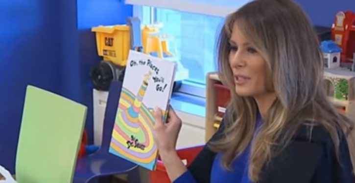 Dear Mrs. Trump: Thank you for recognizing our school; now take your books and shove them *UPDATE*