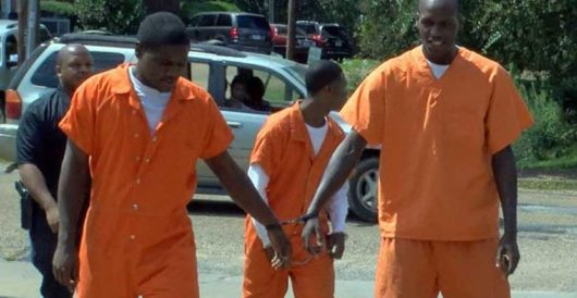 Four inmates break out of prison and rob a nearby store. What they do next is unexpected by Howard Portnoy