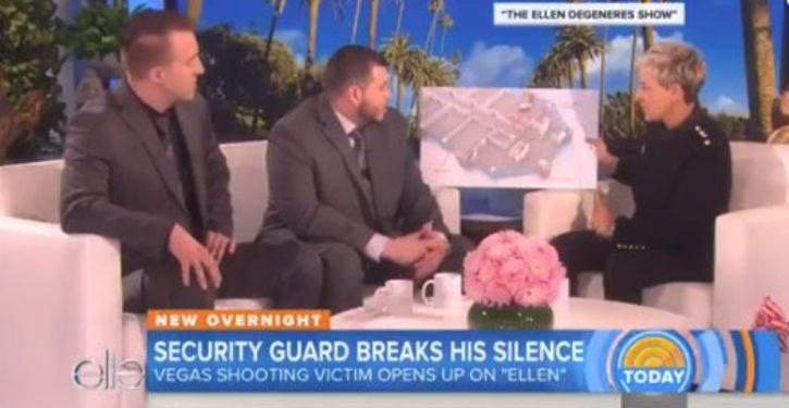 Las Vegas hero Campos emerges, will break his silence … on Ellen Degeneres's show