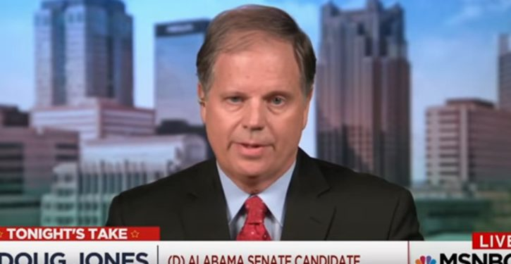Democrats run trashy political ad for Doug Jones campaign