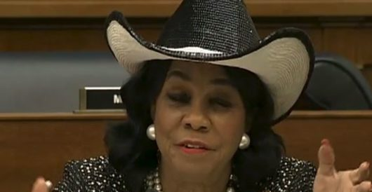 Rep. Frederica Wilson asks a stupid question, ends up with egg facial by Ben Bowles