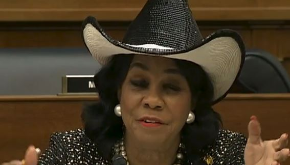 Rep. Frederica Wilson asks a stupid question, ends up with egg facial