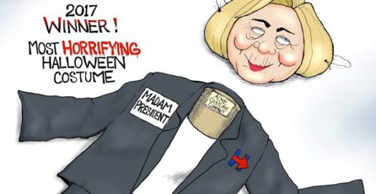 Cartoon bonus: The vote is in, and Hillary wins by A. F. Branco