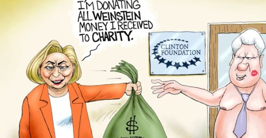 Cartoon of the Day: Blood money by A. F. Branco
