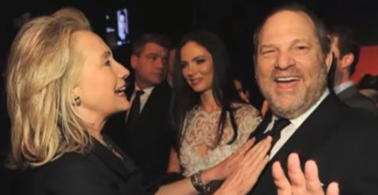 Image of the Day: How Harvey Weinstein and Hillary Clinton really feel about sexual predators by Rusty Weiss