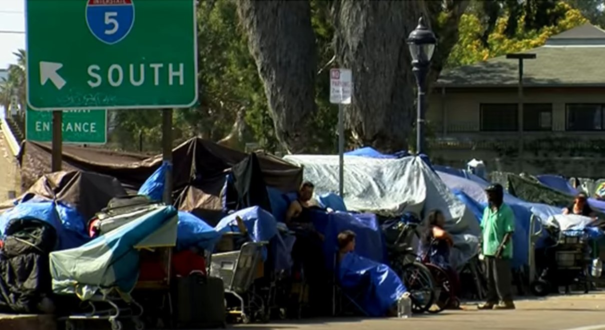35 tons of garbage, including 700 lbs of human waste, removed from L.A. homeless camp