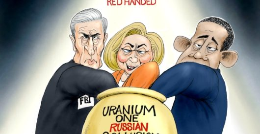 Cartoon of the Day: Red handed by A. F. Branco