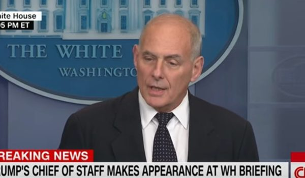 Video of the day: John Kelly sets media straight on Rep. Wilson and condolence calls to military families by J.E. Dyer