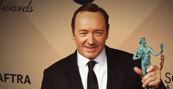 Kevin Spacey labels Donald Trump a 'disease'