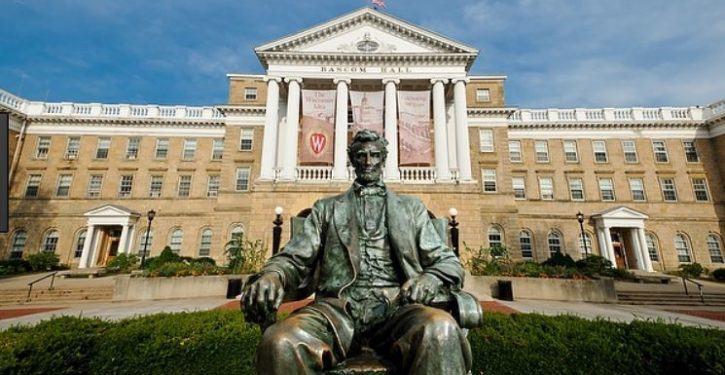 U. of Wisconsin rejects demand for plaque near Lincoln statue accusing 16th president of this