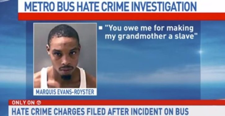 Black man declares 'all white people are evil,' spits in homeless man's face