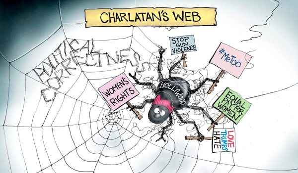 Cartoon of the Day: Charlatan's web by A. F. Branco