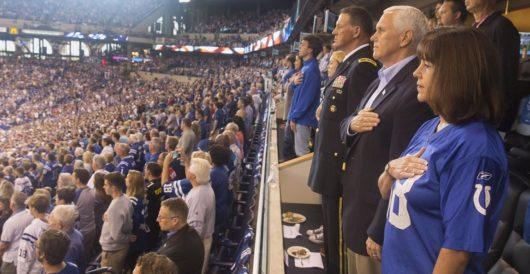 Why VP Pence walked out on 49ers-Colts game by J.E. Dyer