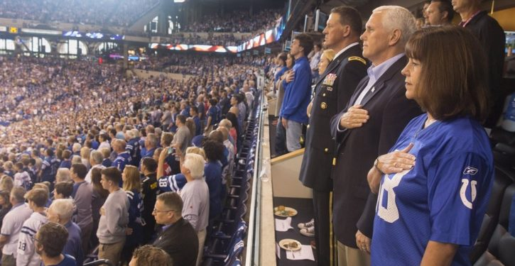 Why VP Pence walked out on 49ers-Colts game