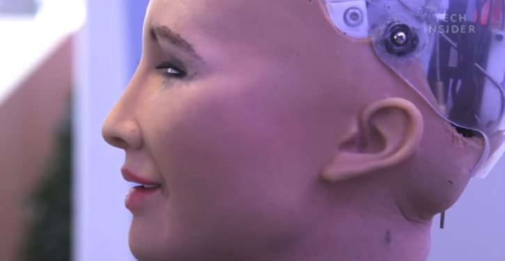 A robot that once said it would 'destroy humans' just became first robot citizen