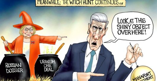 Cartoon of the Day: Trick or trick by A. F. Branco