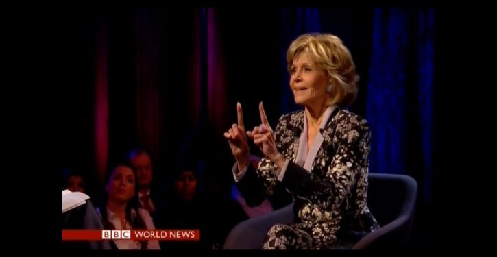 Jane Fonda: 'Let's grow balls and ovaries,' 'rise up' against GOP Senate replacing Ginsburg