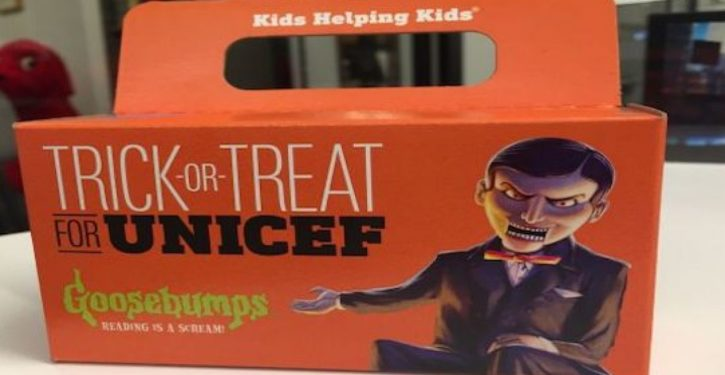 This Halloween please don't give money to UNICEF