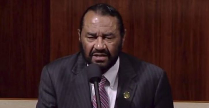 'We can impeach again': Rep. Al Green suggests continuous impeachment effort