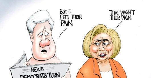 Cartoon of the Day: No pain, no gain by A. F. Branco