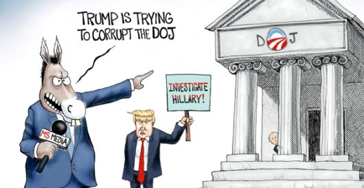 Cartoon of the Day: Department of (No) Justice by A. F. Branco