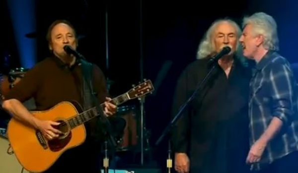 David Crosby to Trump supporters: 'Don't come to my show, a*shole' by Joe Newby