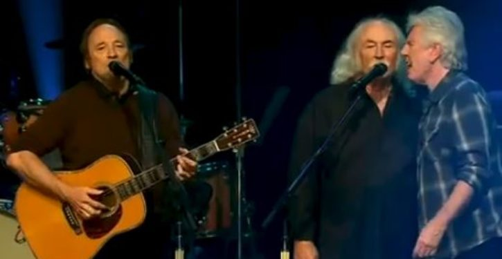 David Crosby to Trump supporters: 'Don't come to my show, a*shole'