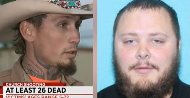 Armed citizen pursued TX church shooter;UPDATE: 2nd man who confronted shooter ID'd, new info on shooter's violence record