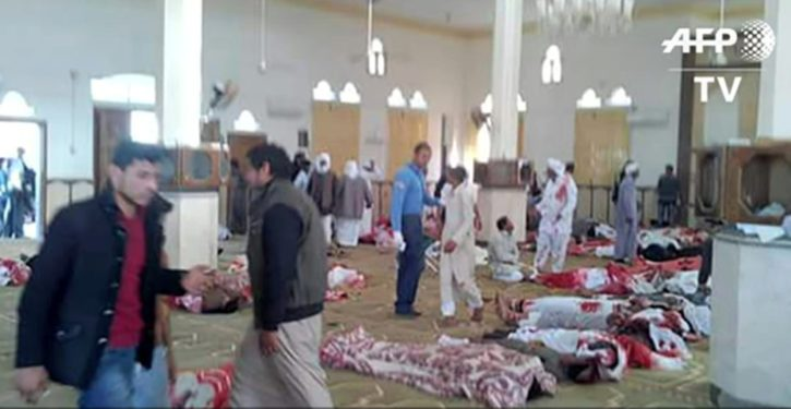 Egypt: At least 235 killed, 100 injured in terror attack on Sinai mosque