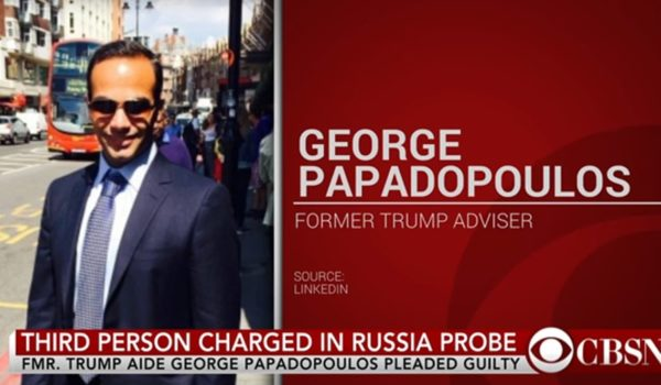 In private, Trump aide George Papadopoulos denies collusion by LU Staff