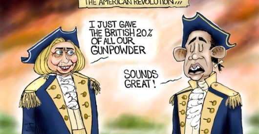 Cartoon of the Day: What difference would it have made? by A. F. Branco