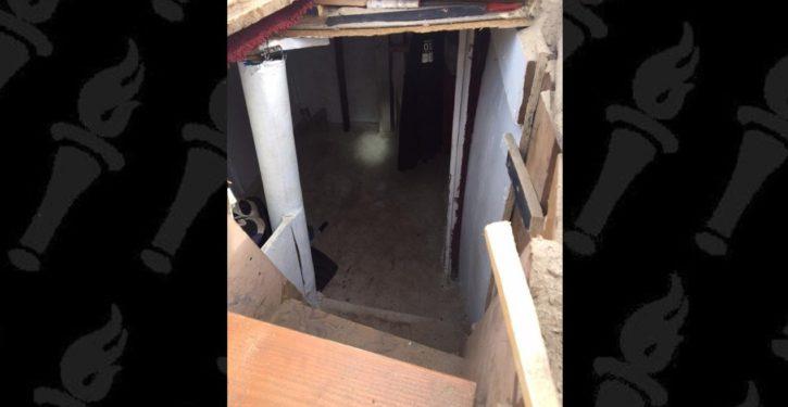 Orange Co Sheriff clears homeless camp, finds underground bunker, 1k stolen bikes, loaded gun