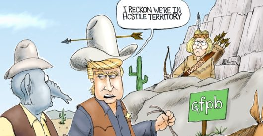 Cartoon of the Day: Unhappy trails by A. F. Branco