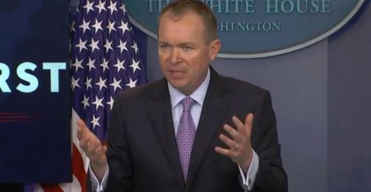 Mulvaney links delay in Ukraine aid to DOJ investigation into 2016, then revises statement