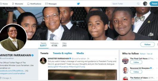 Twitter declines to unverify noted anti-Semite Louis Farrakhan by LU Staff