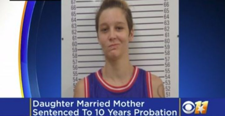 Woman who married mother pleads guilty to incest