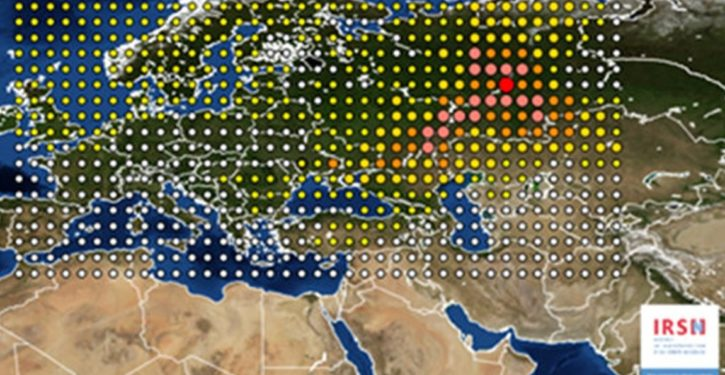 Radioactivity over Europe suggests reactor accident in Asia
