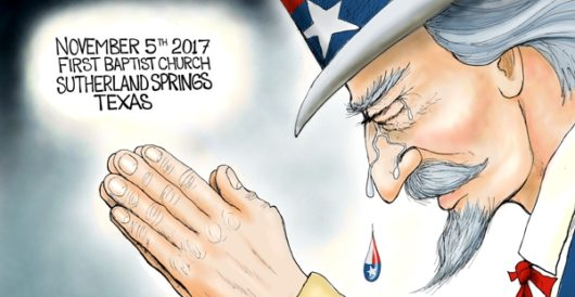 Cartoon of the Day: Prayer mockers be damned by A. F. Branco