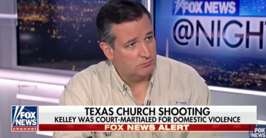 Cruz: Dems blocked 2013 bill addressing system shortfalls that let TX shooter buy a gun by J.E. Dyer