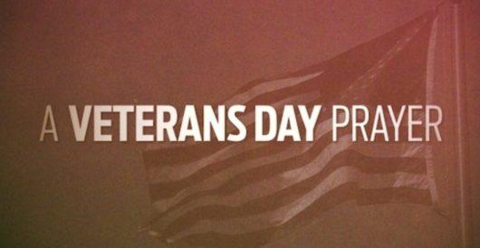 A Veterans Day prayer by Jeff Dunetz